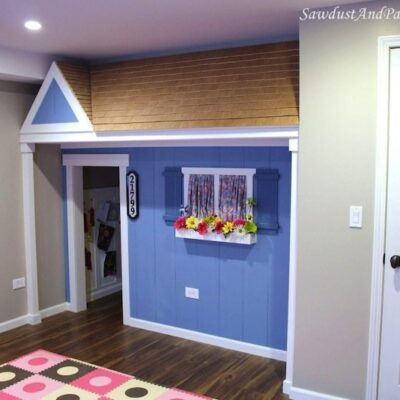 Under the Stairs Playhouse