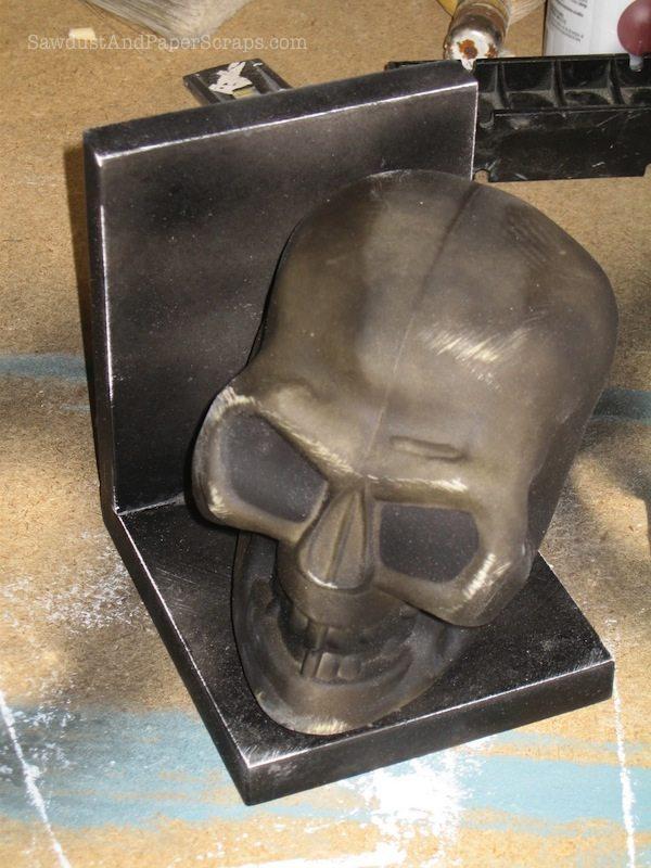 Skull bookend tutorial 2