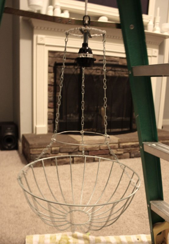 diy project chandelier