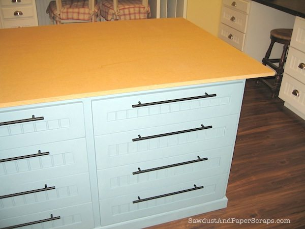 Paint Mdf Countertop : How to build a Painted MDF Countertop