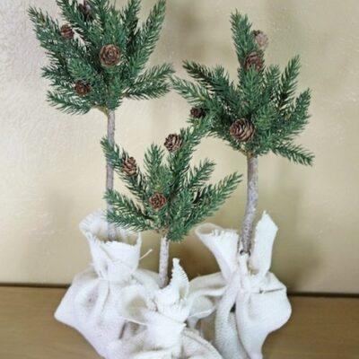 Pine Tree Topiaries {Guest Post}