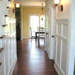 Entry wainscoting