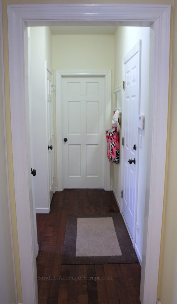 House Tour Laundry Room And Office Hallway Sawdust Girl 174