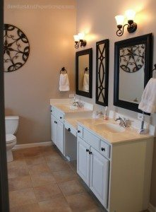 House Tour – Master Bathroom