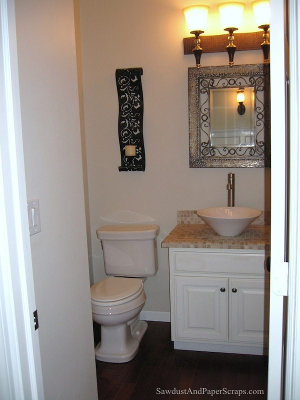 Powder room renovation IL