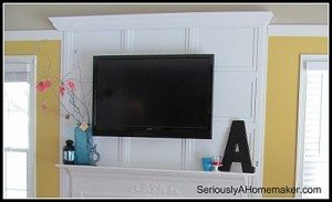 How to Hide TV Cords in Trim Work