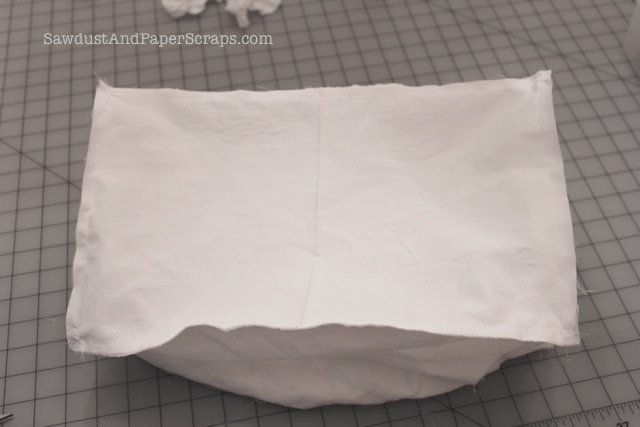 Sewing a reusable grocery bag