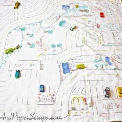 Play and Store Toy Mat – Fun to Play With and Store Toys