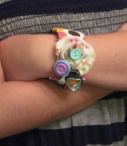 Fabric Slap Bracelet -$1 Gift Idea