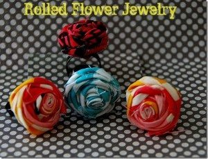 Rolled Flower Jewelry