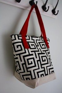 Washable Insulated Lunch Tote