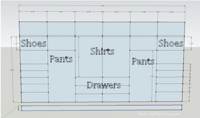 How to plan and design a built-in closet