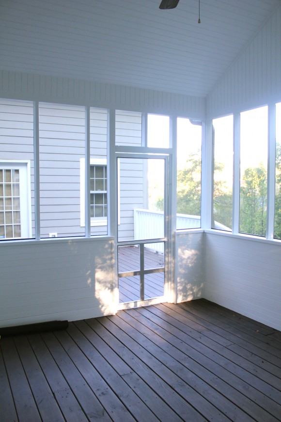 Screened In Porch Done Sawdust Girl