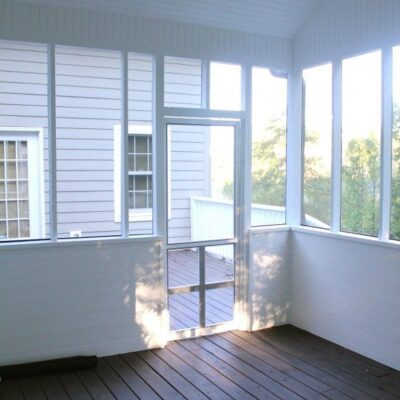 Screened in Porch – Done