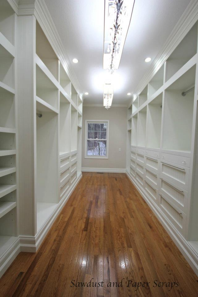 Awesome Master Closet With Built In Wardrobes