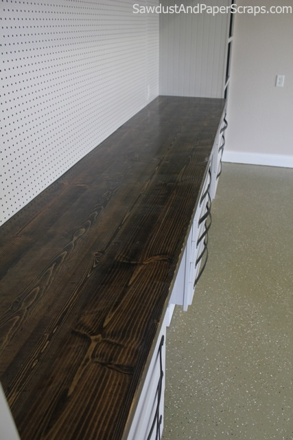 Diy Distressed Wood Countertops