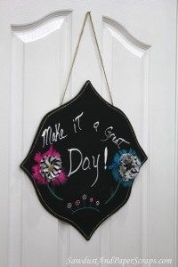 Decorative Chalkboard Craft