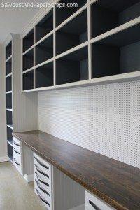 Workshop Cabinets in Garage