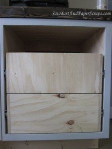 Installing Cabinet Drawers with Glides
