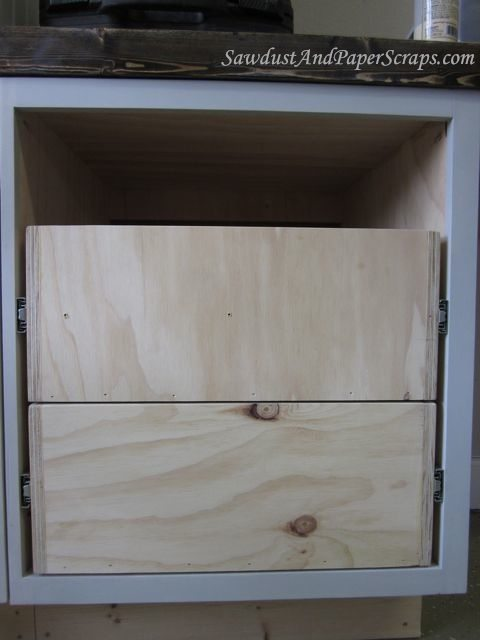 installing cabinet drawers with slides