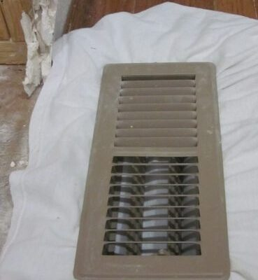 Keeping Vents Clean During Demo