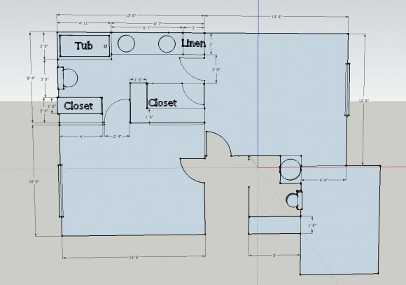 Jack and jill bathroom layout best layout room for Shared bathroom layout