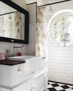 Farmhouse Sink Bathroom Sawdust Girl