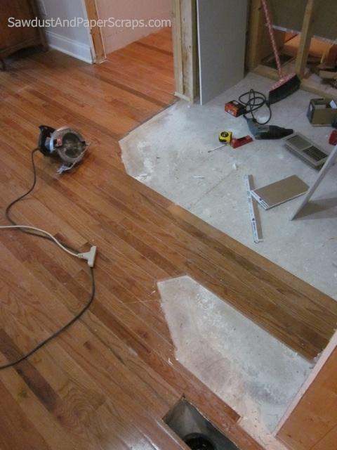 How-to Patch Hardwood Floor - YouTube