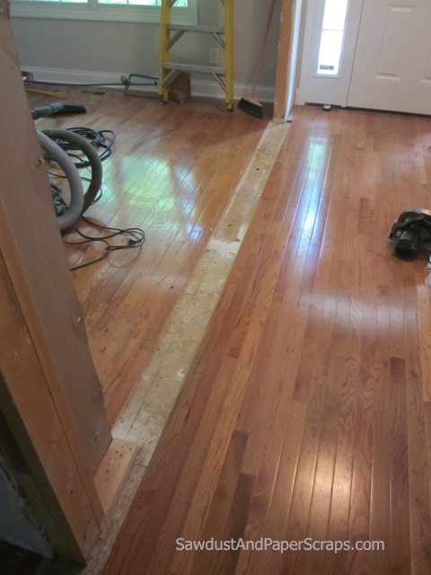 Patching Wood Floors Sawdust Girl 174