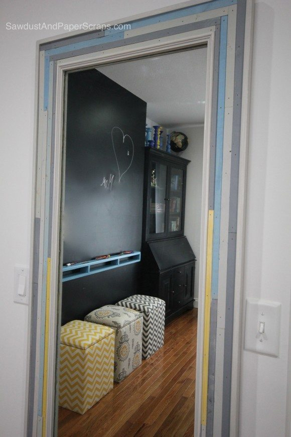 Cool Diy Framed Mirror From A Blah Builders Mirror