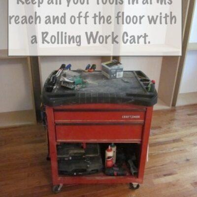 Workshop Fav:  Rolling Work Cart