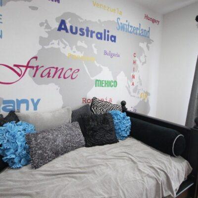 Madison's World Art Bedroom Reveal