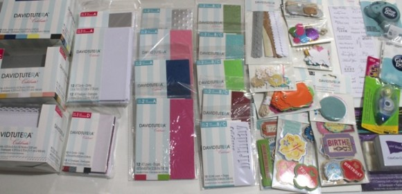 David Tutera Card making supplies
