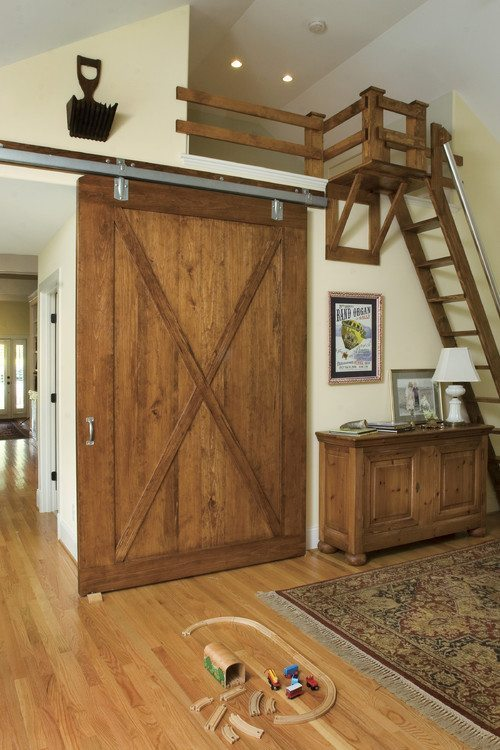 Barn Door Style - Sawdust u0026 Paper Scraps