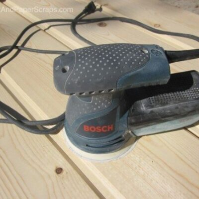 Bosch Random Orbital Sander review