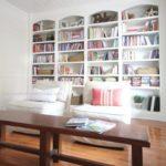 Library, bookshelves, styling