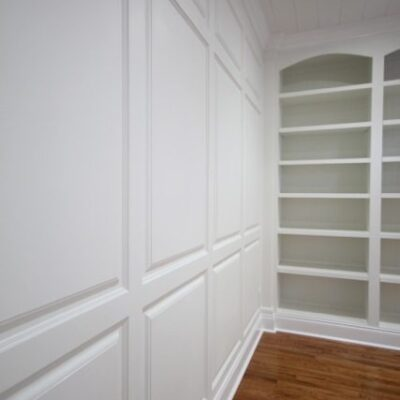 Installing Raised Panel Wainscoting