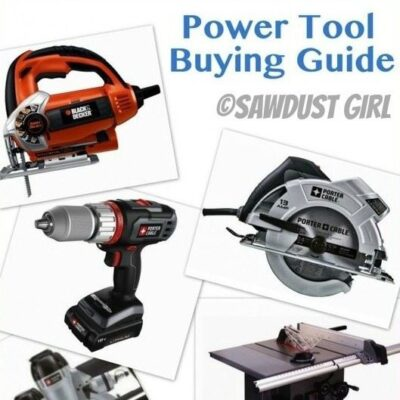 Power Tools for the New Carpenter