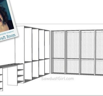 Beckie's Studio Craft Room Project – Part 1