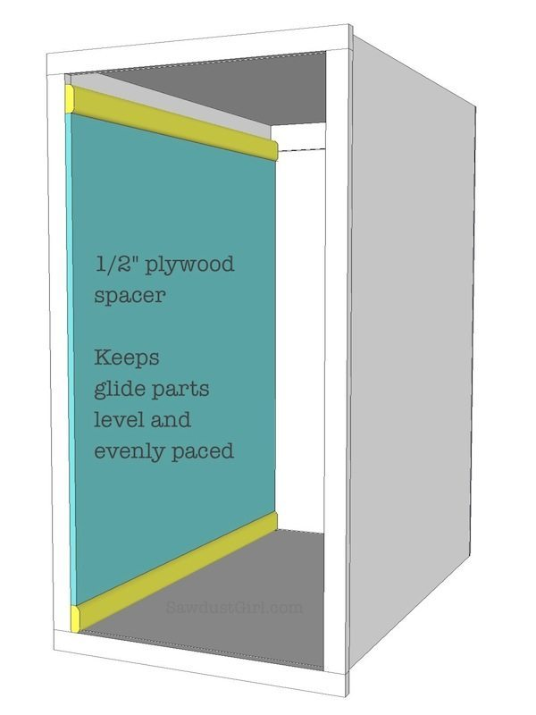 Free plans pullout storage plans sawdust girl 174