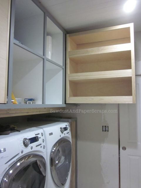 Pull out Pantry Storage Cabinet - free plans!