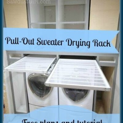 How to make a Pull-out Sweater Drying Rack