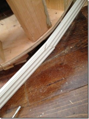 how not to bend moulding