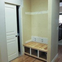 Mudroom -built-in-bench