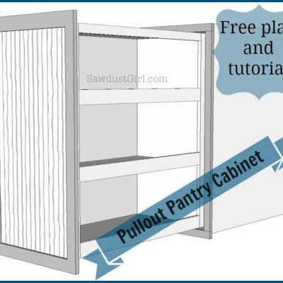 Pull-out Storage Cabinet