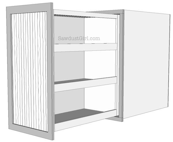 Rolling Shelves - Free plans!