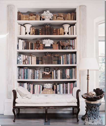 how to style beautiful bookshelves sawdust girl