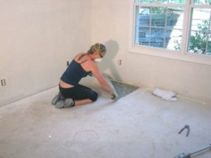 How to Remove Carpet – without breaking your back