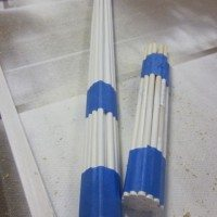 cutting multiple dowels at the same length
