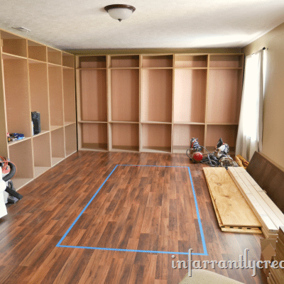 Beckie's Studio Cabinets – part 2